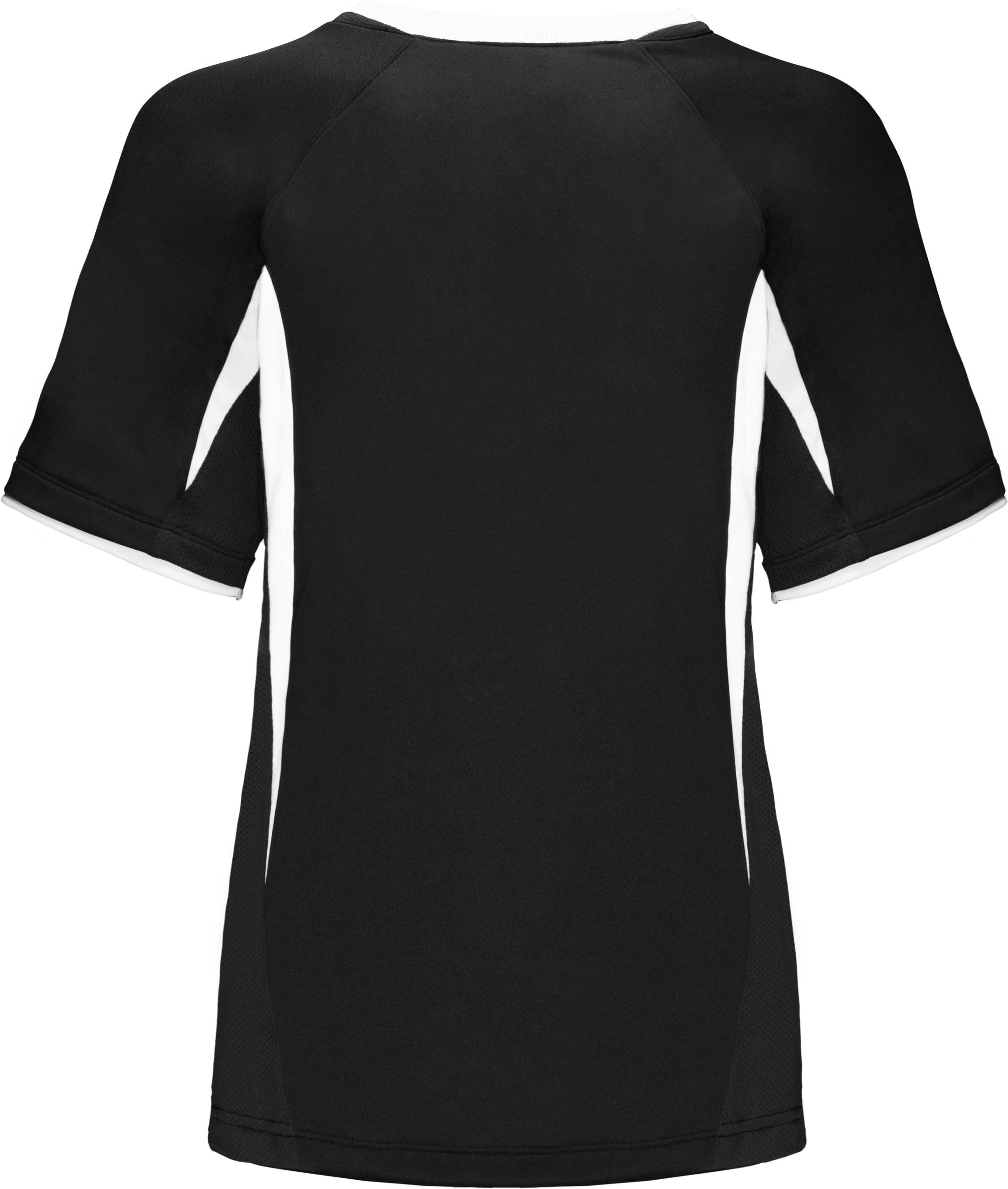 Youth Short Sleeve UA Stealth Jersey, Black , undefined
