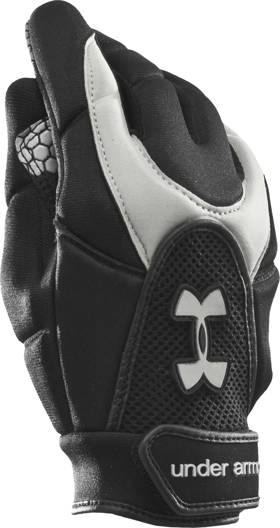 Women's Lax Glove, Black , zoomed image