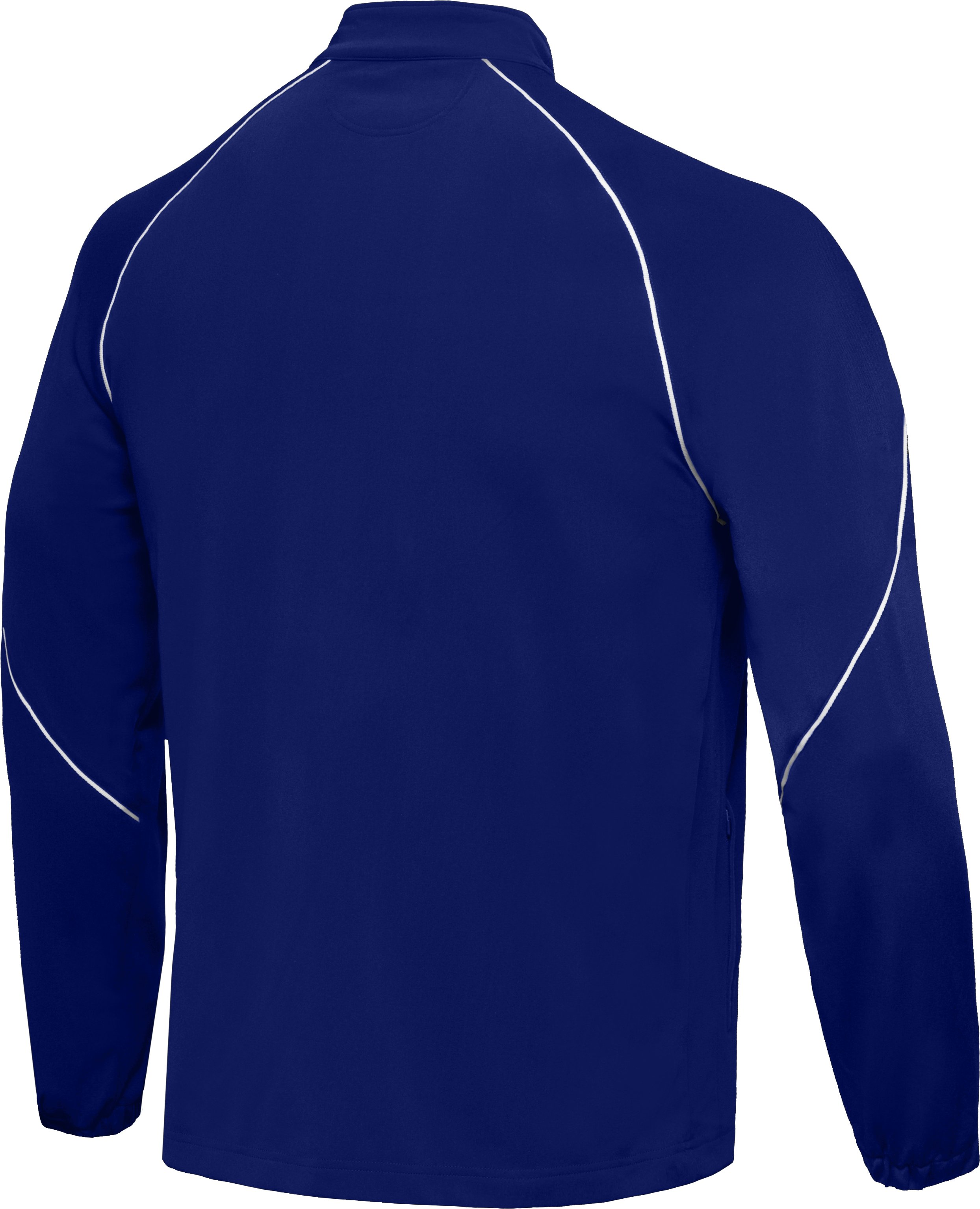 Men's Team Knit Warm-Up Jacket, Royal