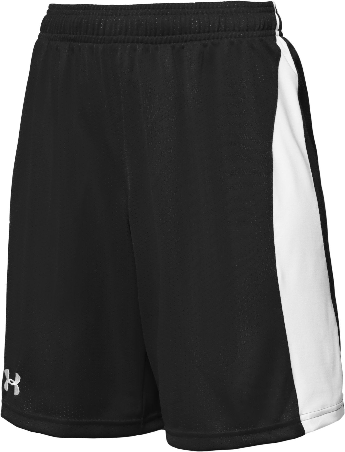 "Boys' UA Finisher 8.5"" Shorts, Black"