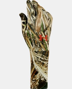 Men's UA ColdGear® Camo Liner Gloves LIMITED TIME: FREE U.S. SHIPPING 1 Color $17.24