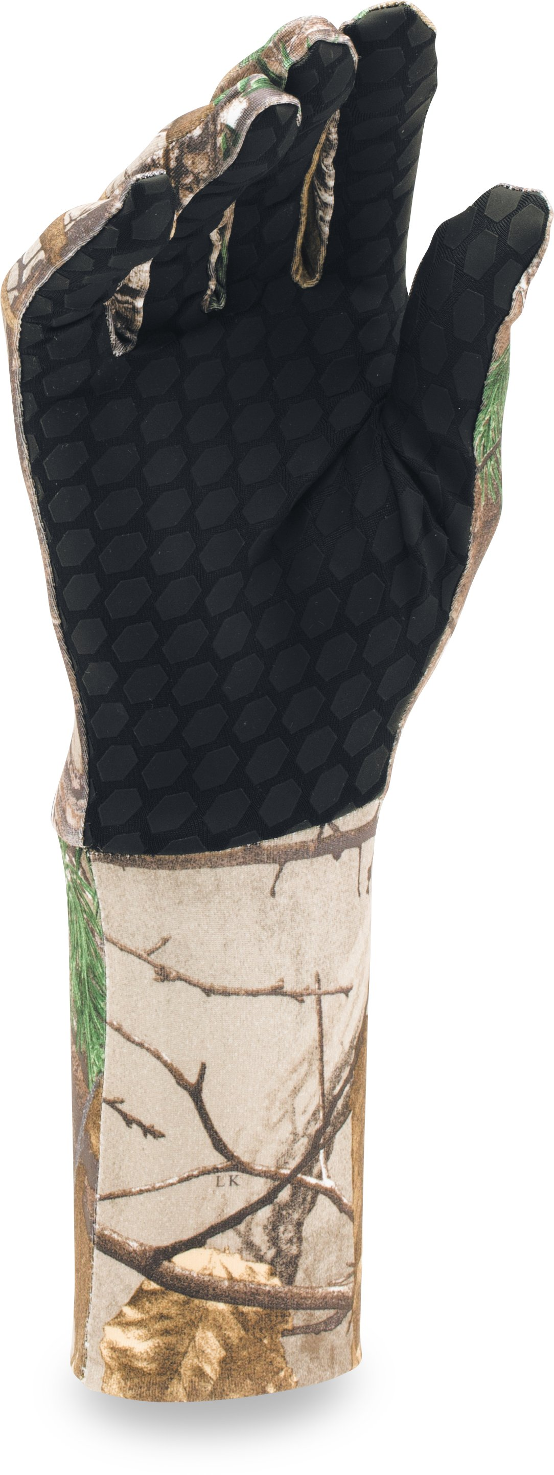 Men's UA Camo ColdGear® Liner Gloves, REALTREE AP-XTRA