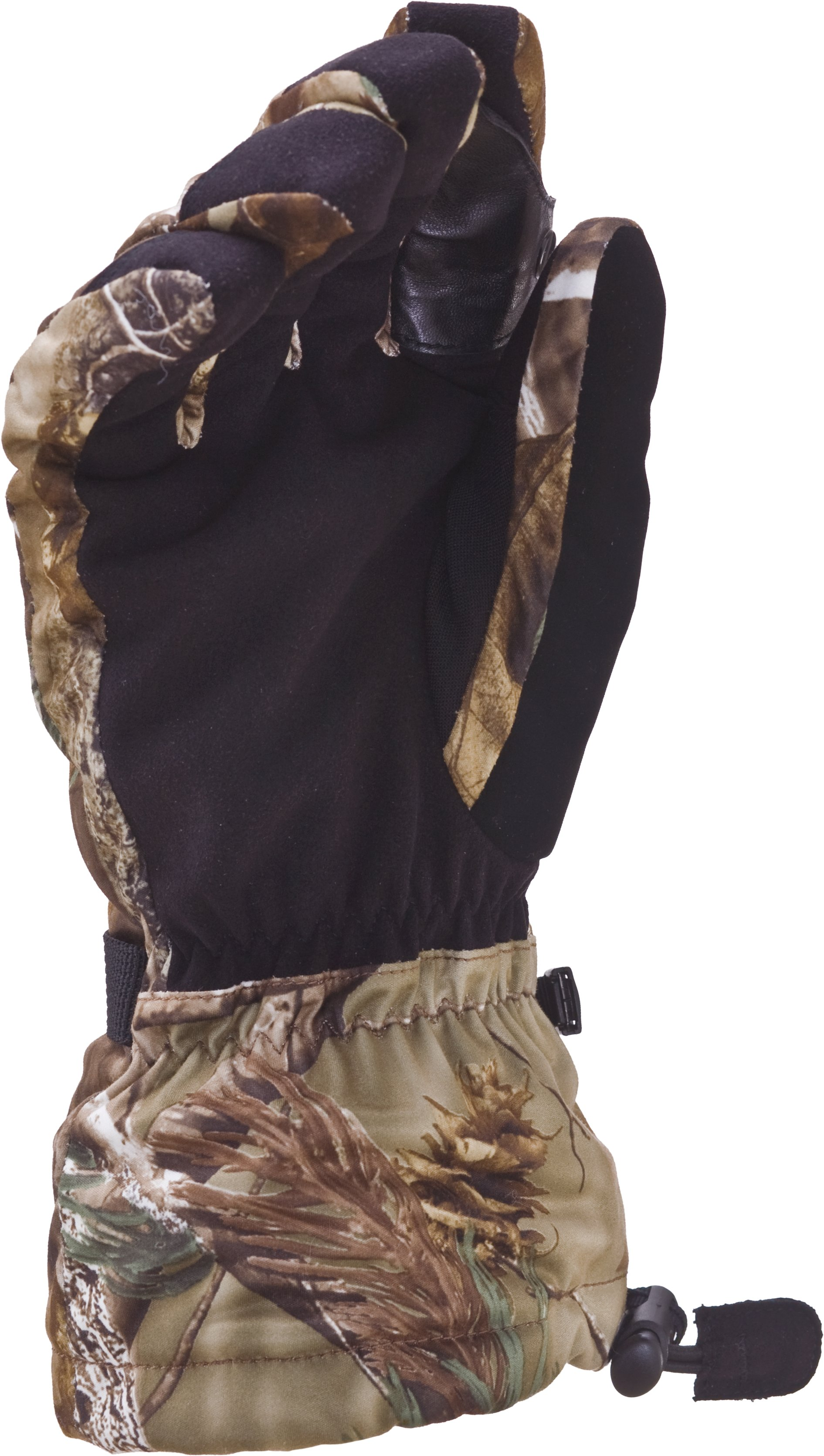 Camo Insulated Shooting Gloves, Realtree AP