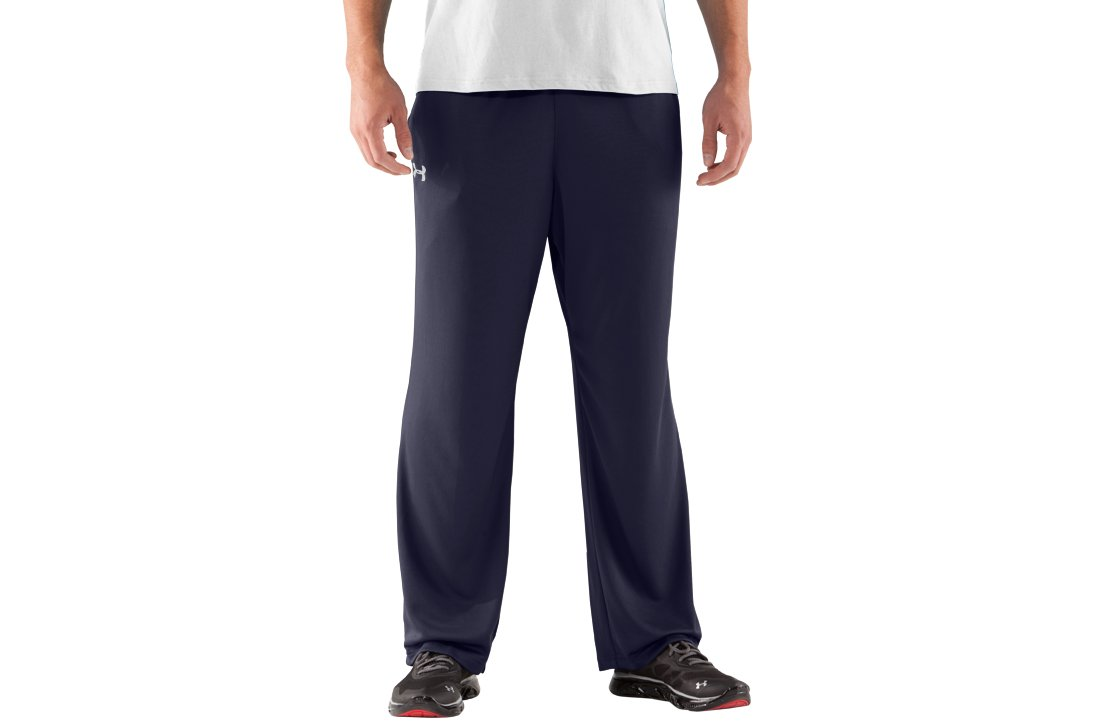 Men's UA Flex Warm-Up Pants, Midnight Navy, undefined