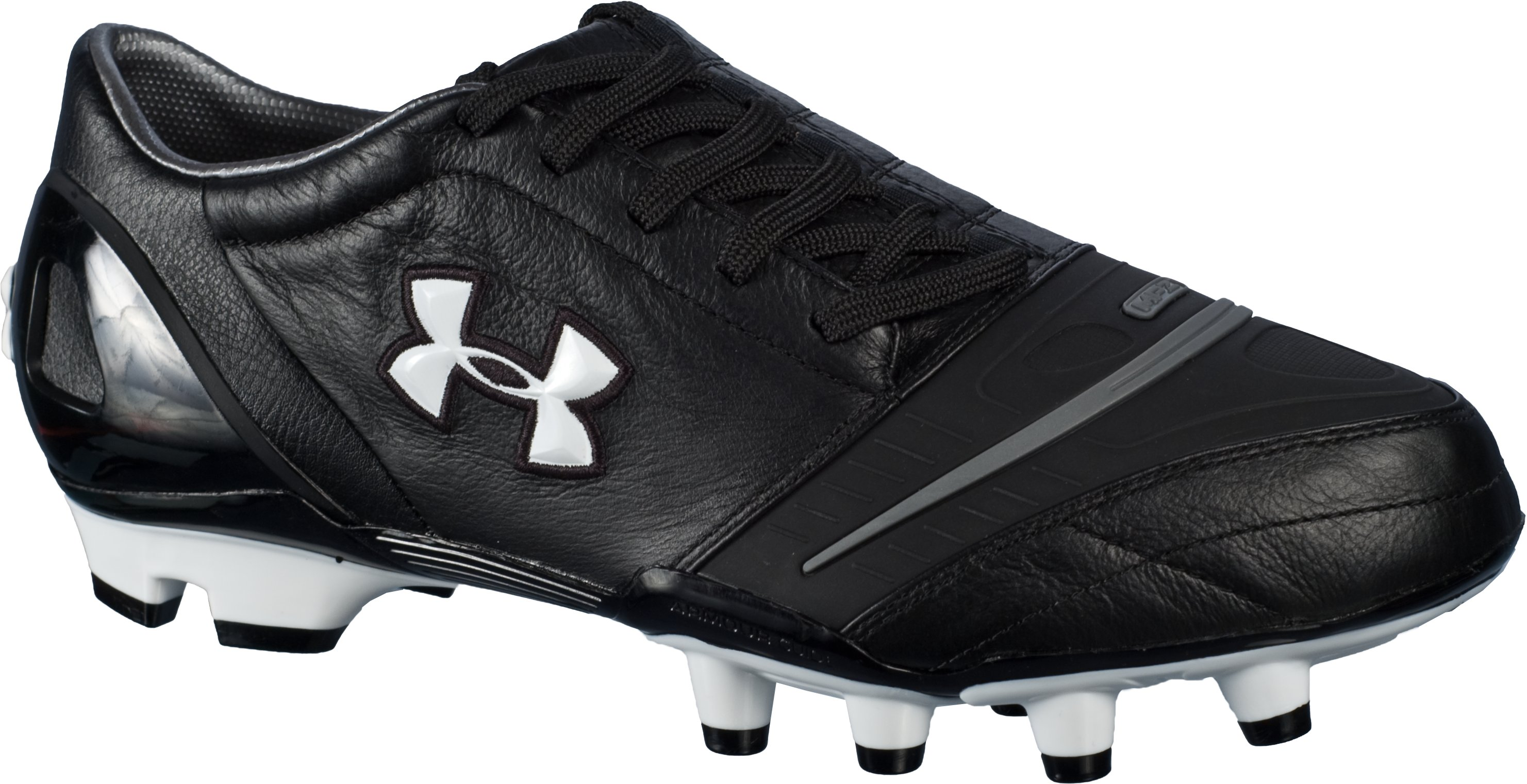 UA Dominate FG Soccer Cleat, White, zoomed image
