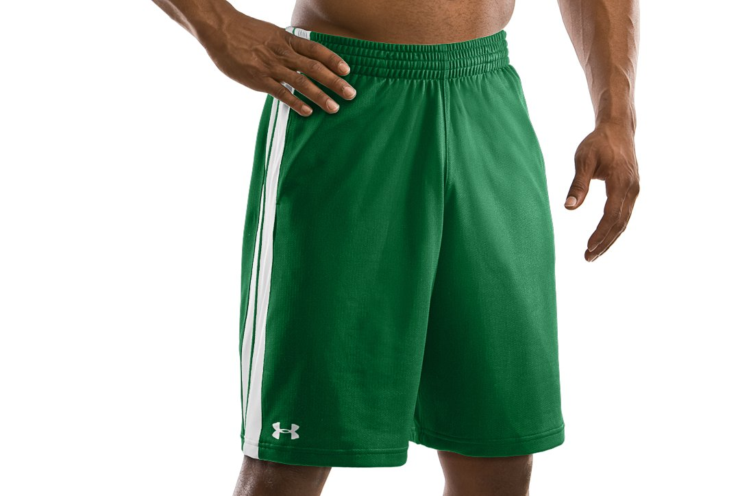 "Men's 10"" Basketball Practice Shorts, Classic Green"