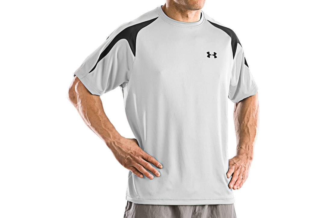 Men's UA Zone II Short Sleeve T, White
