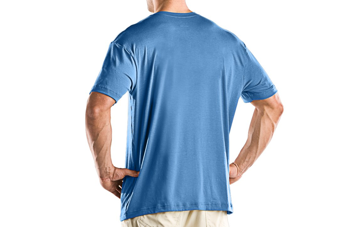 Men's UA Tuna Logo T, Carolina Blue