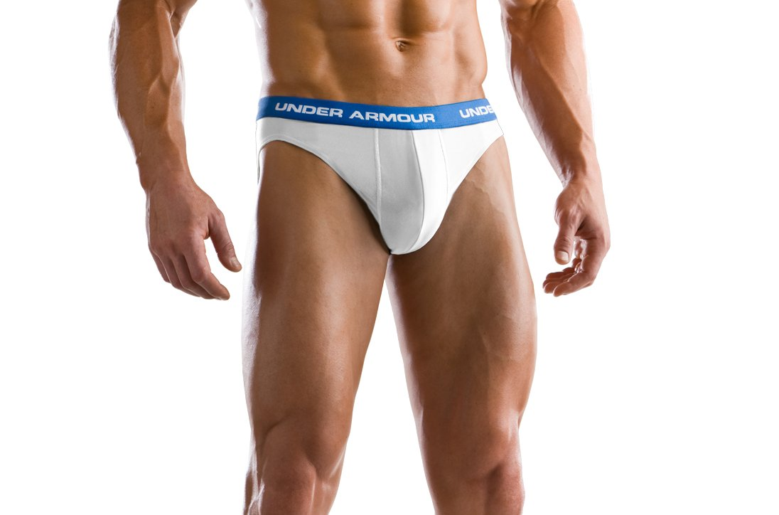 Men's M Series Sports Briefs, White, zoomed image