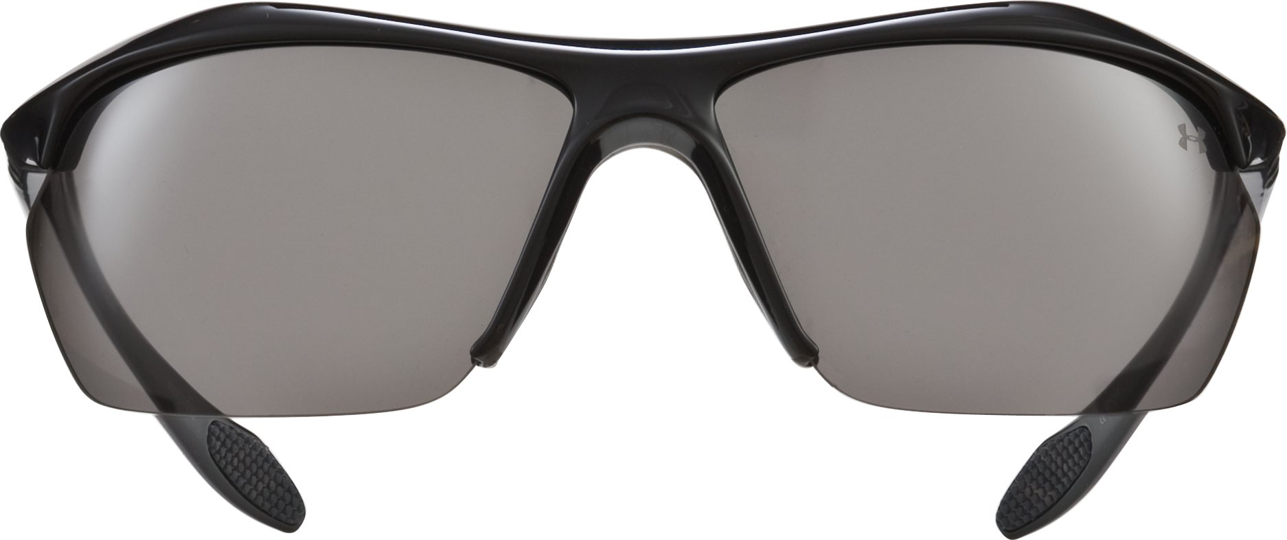 UA Zone XL Sunglasses, Shiny Black,