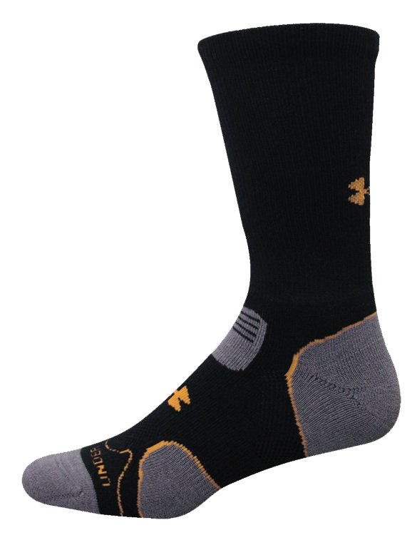 Men's Hitch Lite Cushion Boot Socks, Black , zoomed image