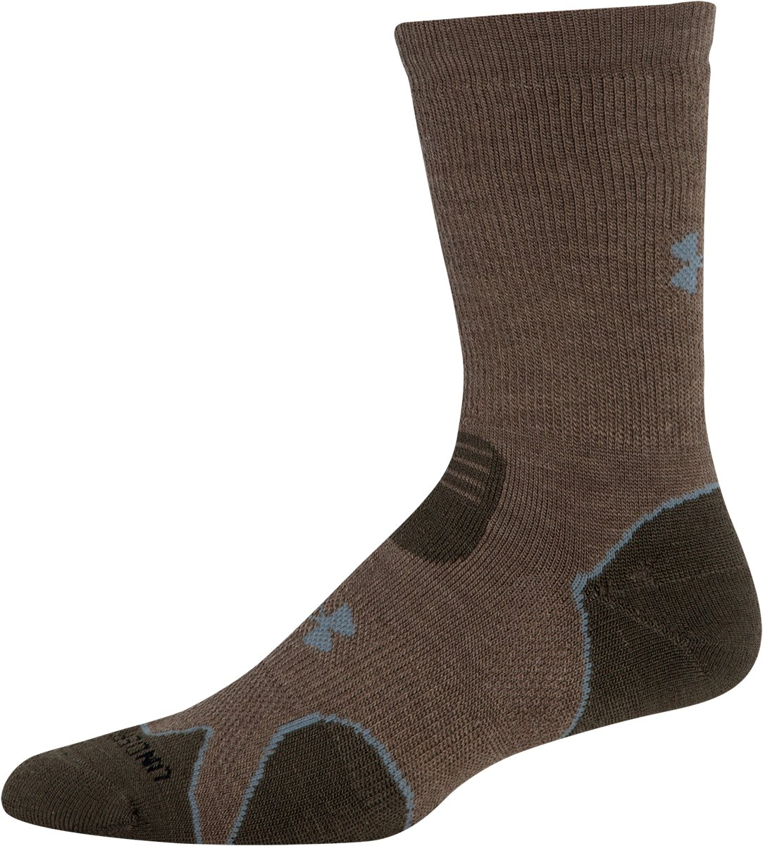 UA Armour™ Heavy Cushion Boot Socks, Taupe, zoomed image