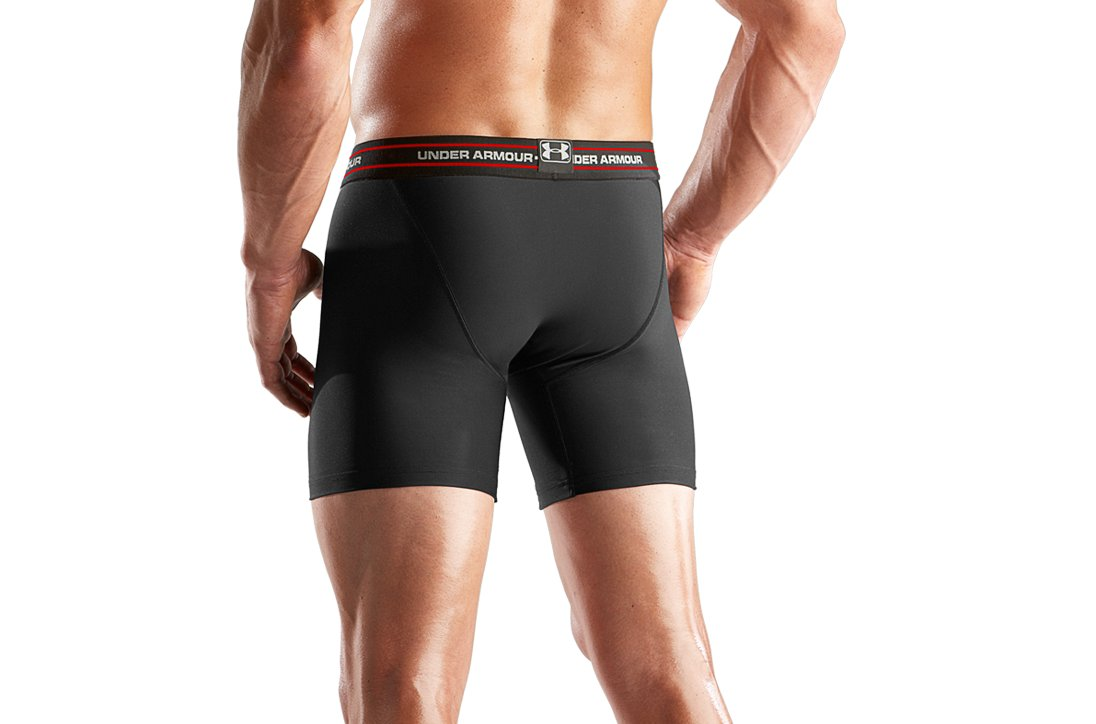 "Men's O Series Boxerjock® 6"" Boxer Briefs, Black , undefined"