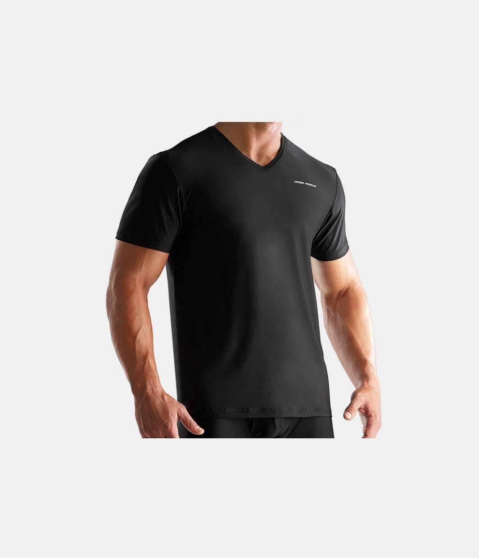 Men s o series v neck undershirt under armour ca for Mens under armour under shirt