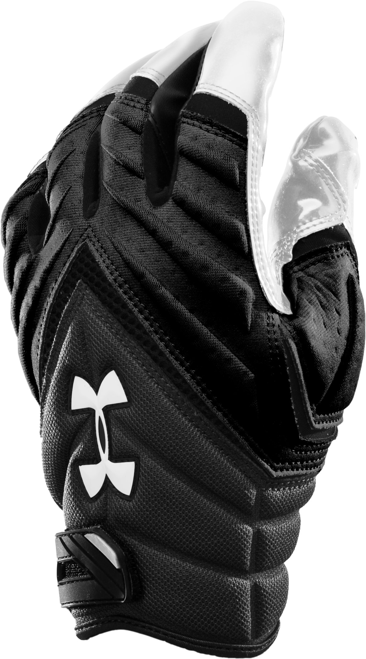 Youth Combat II Full Finger Gloves, Black , zoomed image