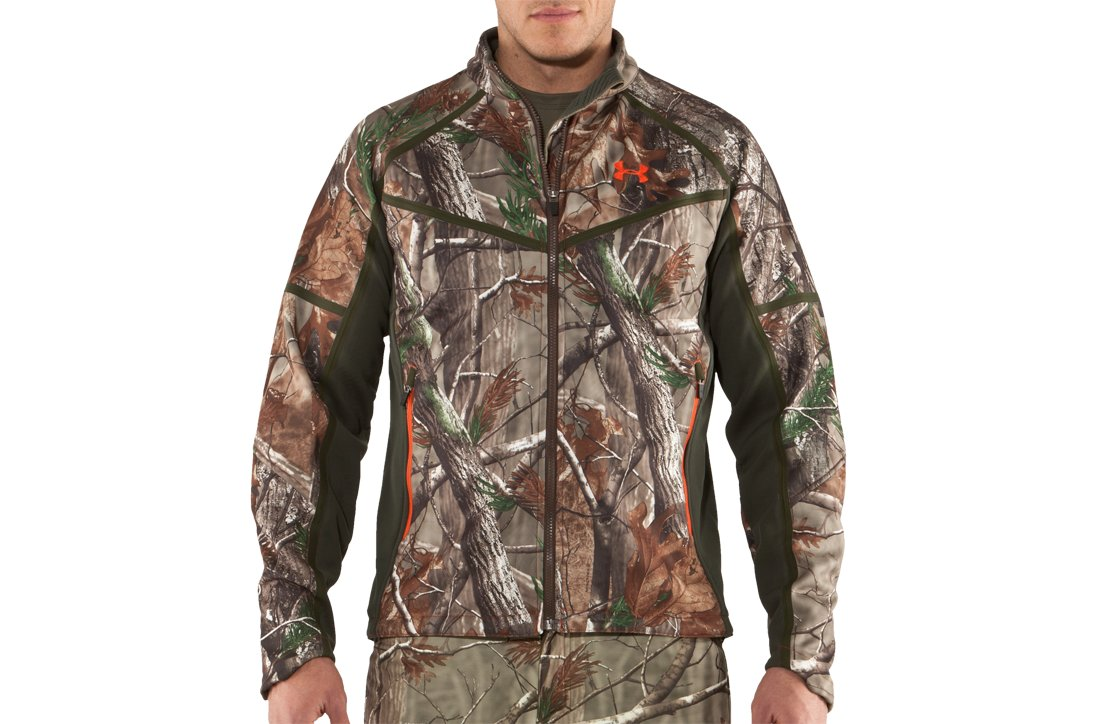 Men's Ridge Reaper® Softshell Camo Hunting Jacket, Realtree AP,