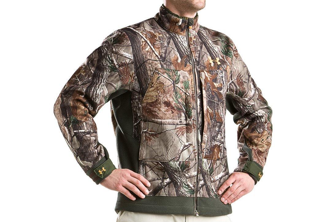 Men's Capture Fleece Hunting Jacket, Realtree AP