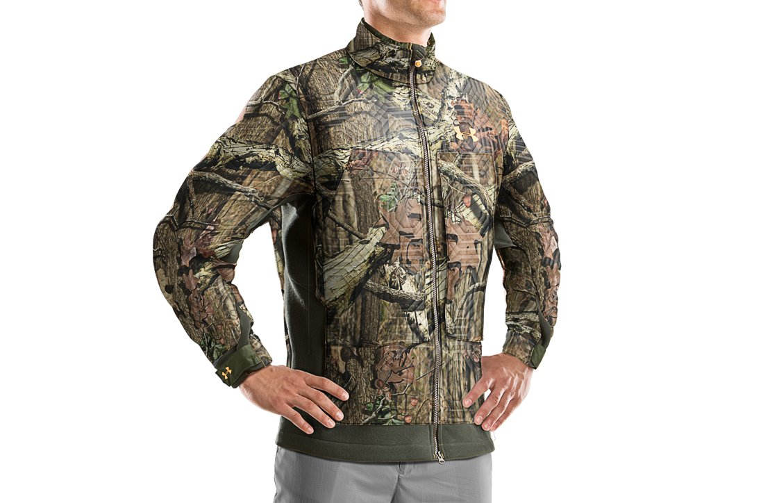 Men's Capture Fleece Hunting Jacket, Mossy Oak Break-Up Infinity, zoomed image