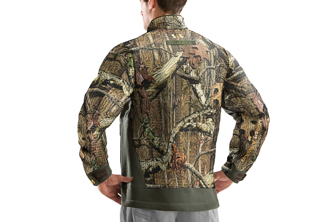 Men's Capture Fleece Hunting Jacket, Mossy Oak Break-Up Infinity, undefined