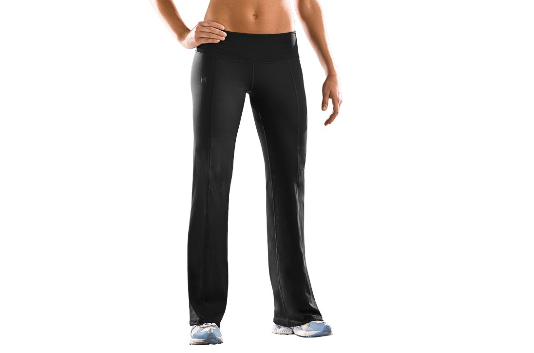 Women's UA EVO ColdGear® Pants, Black