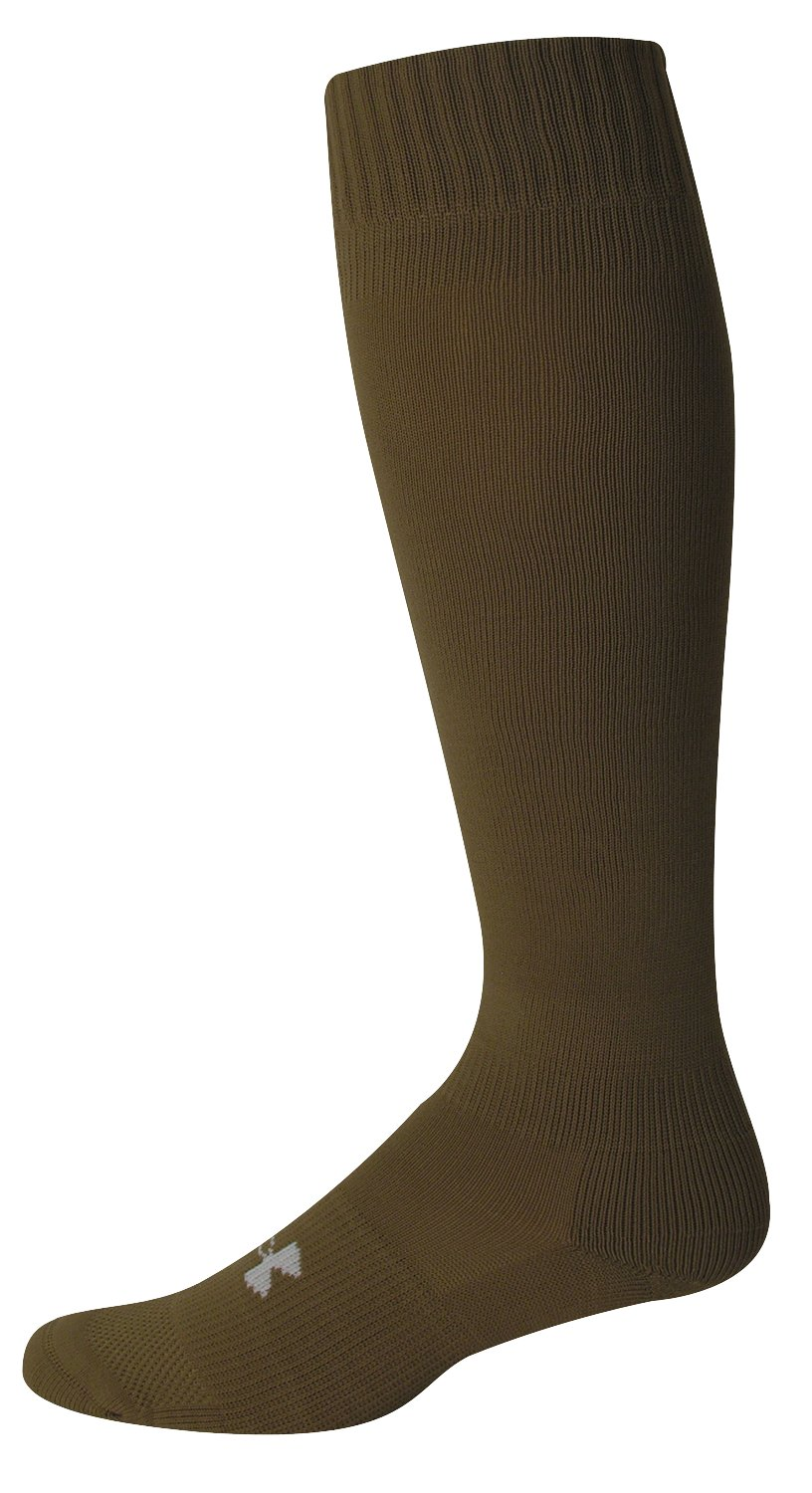 Men's HeatGear® Boot Sock, Coyote Brown, undefined