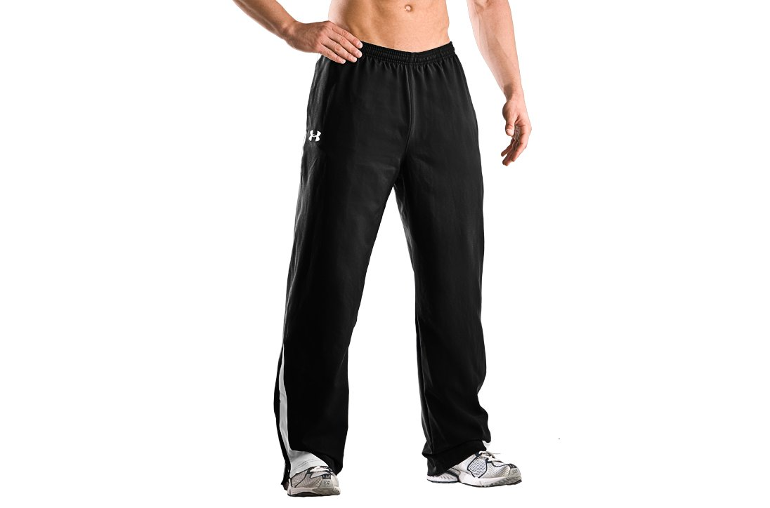 Men's Ignition Woven Warm-Up Pant, Black