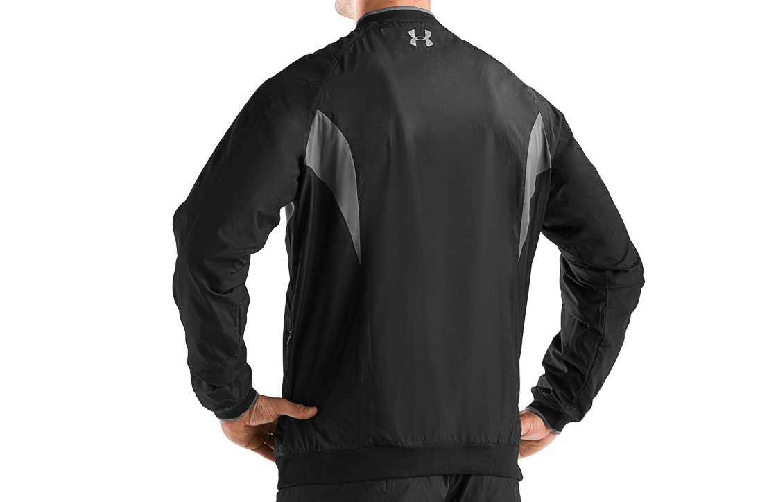 Men's UA Wind Storm Windshirt, Black