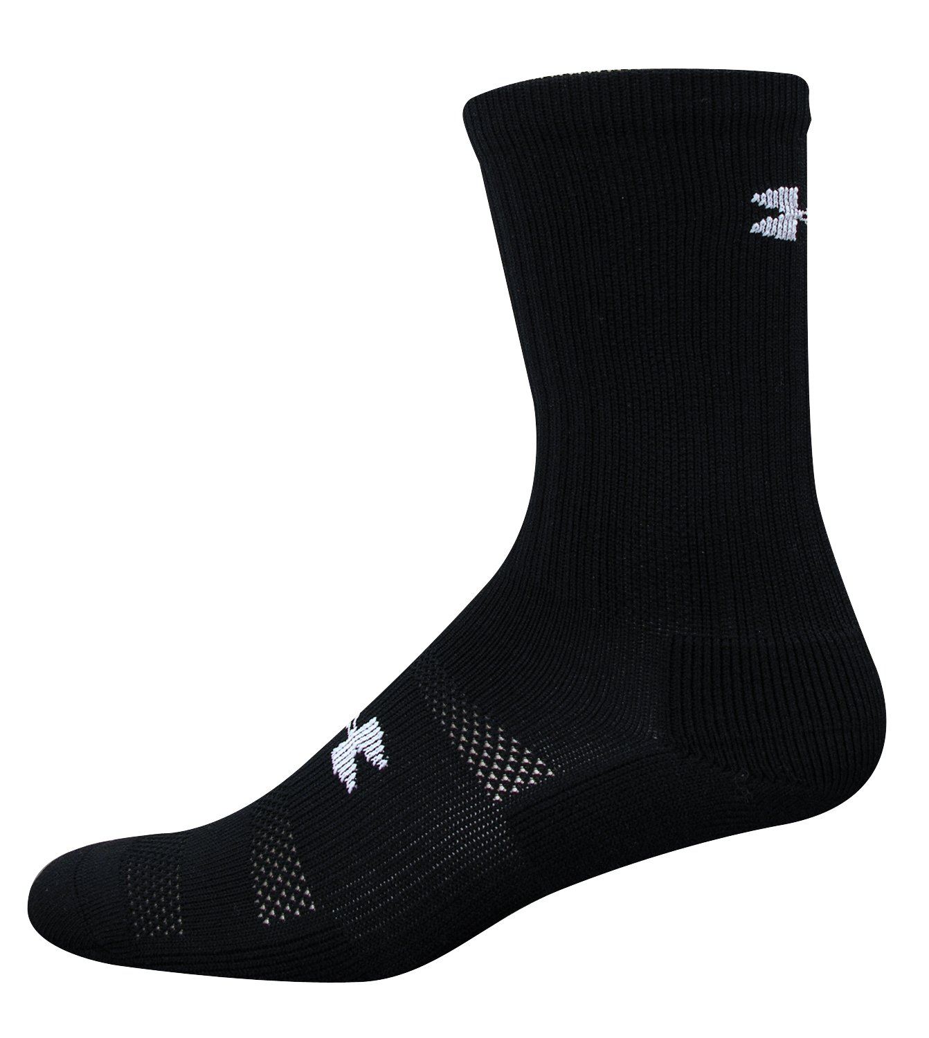 Men's UA Allsport Crew Sock, Black , undefined