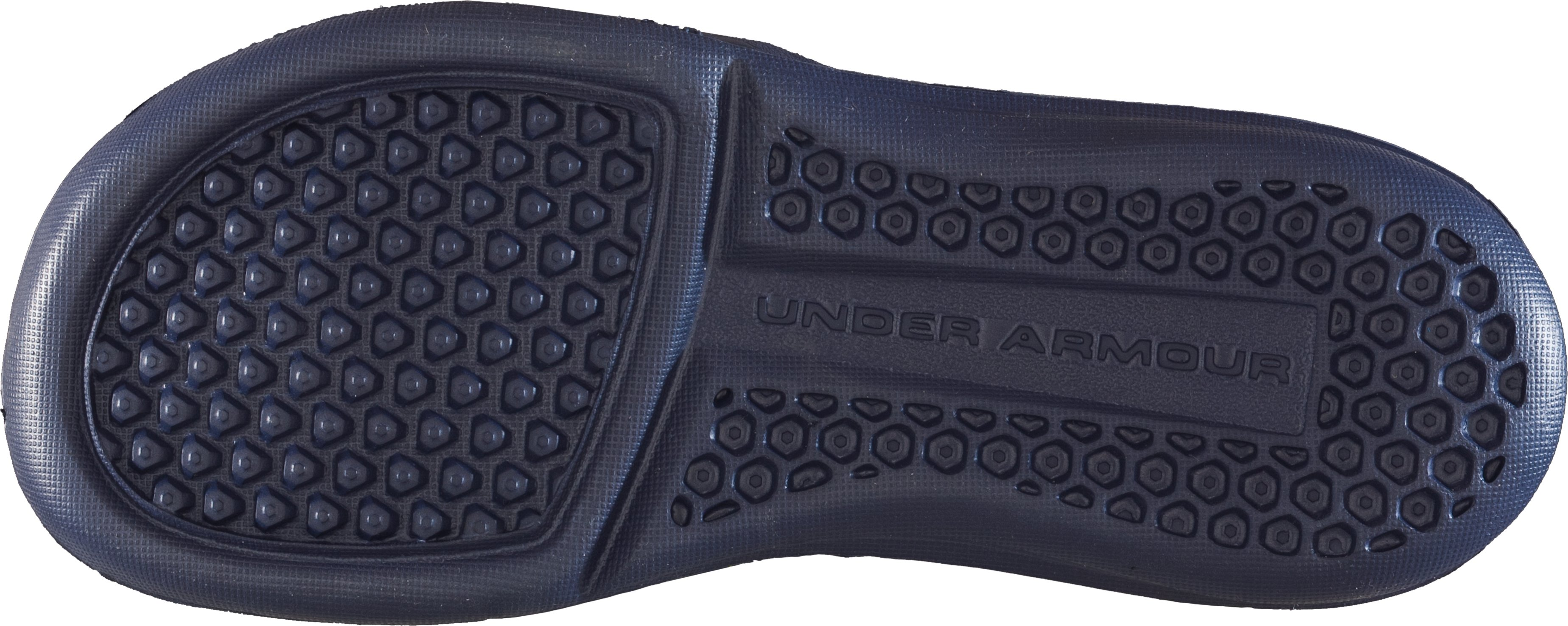 Men's UA Playmaker II Slides, Midnight Navy