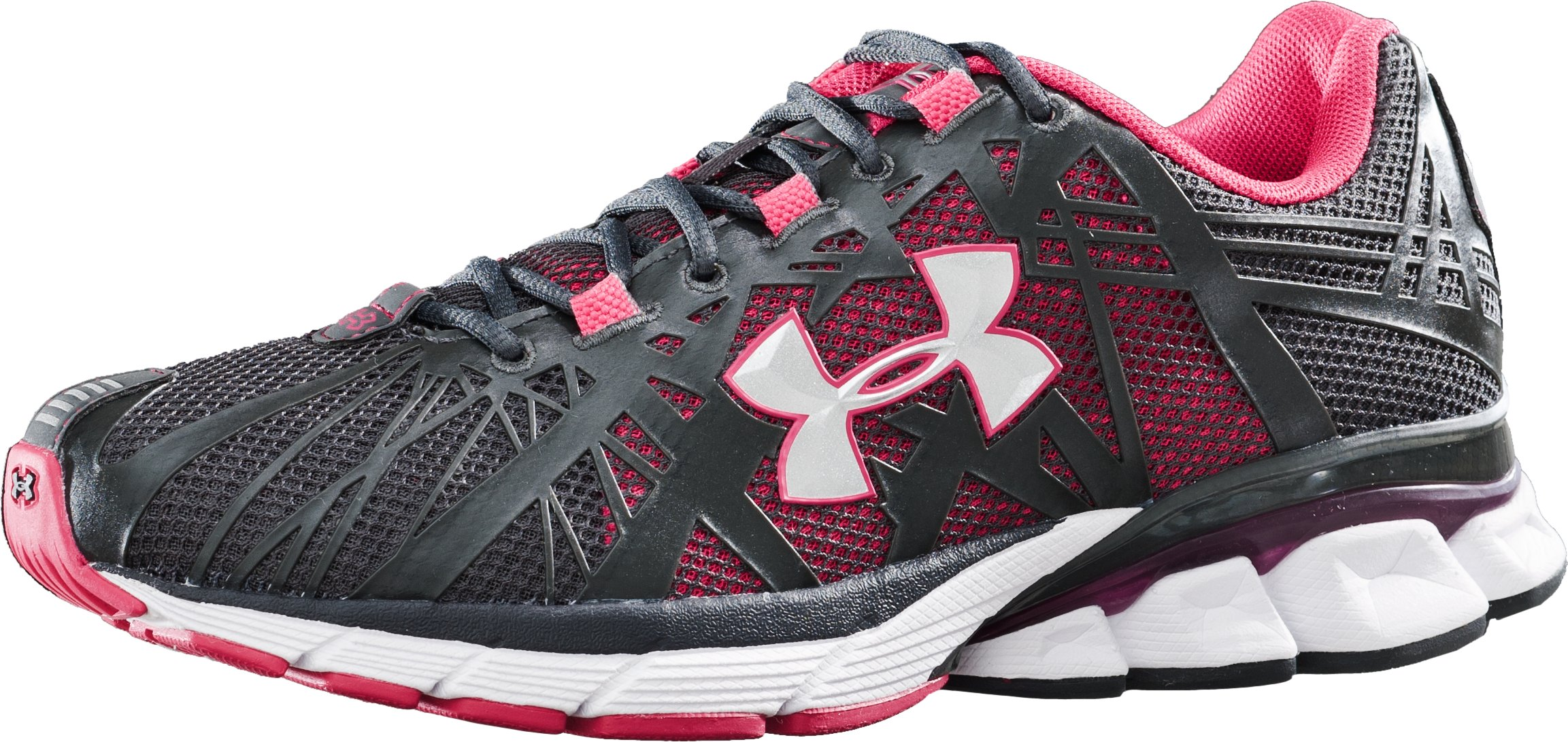 Women's UA Reliance Running Shoes, Charcoal, undefined