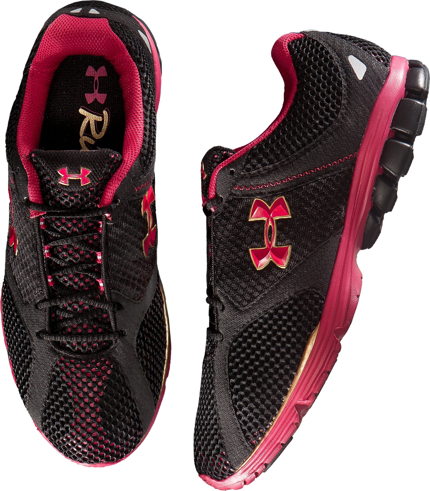 Women's UA Assert Running Shoes, Black , undefined