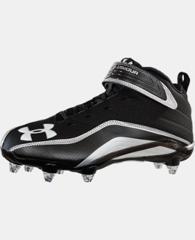 Men's UA Fierce III Mid D Football Cleats  1 Color $82.99