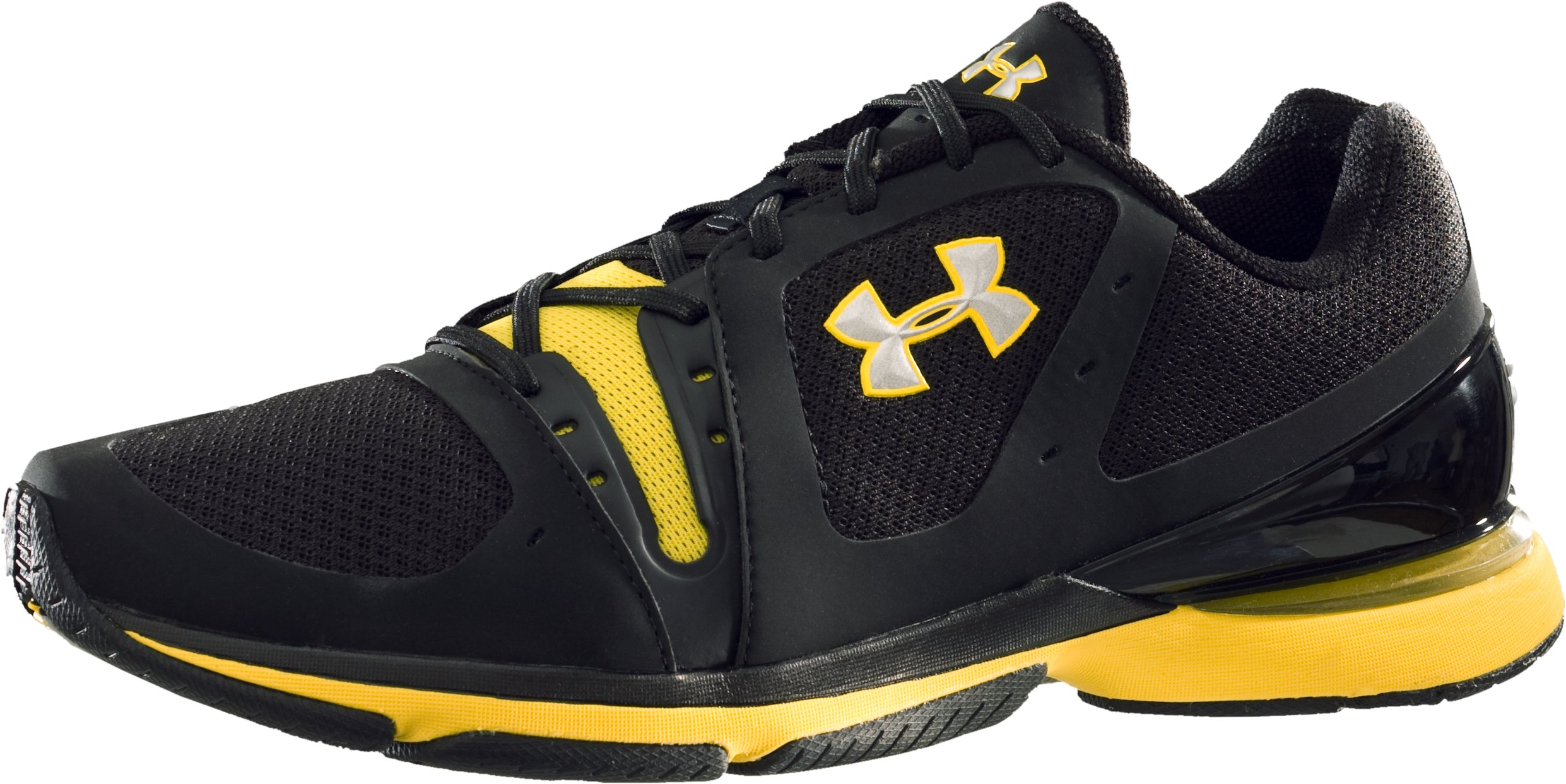 Men's UA Incite Training Shoes, Black , zoomed image