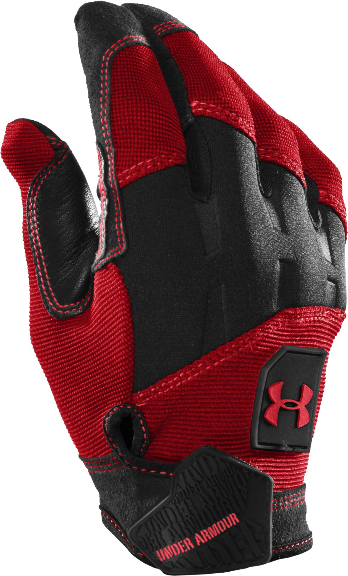 Men's Speed Gloves, University Red, zoomed image