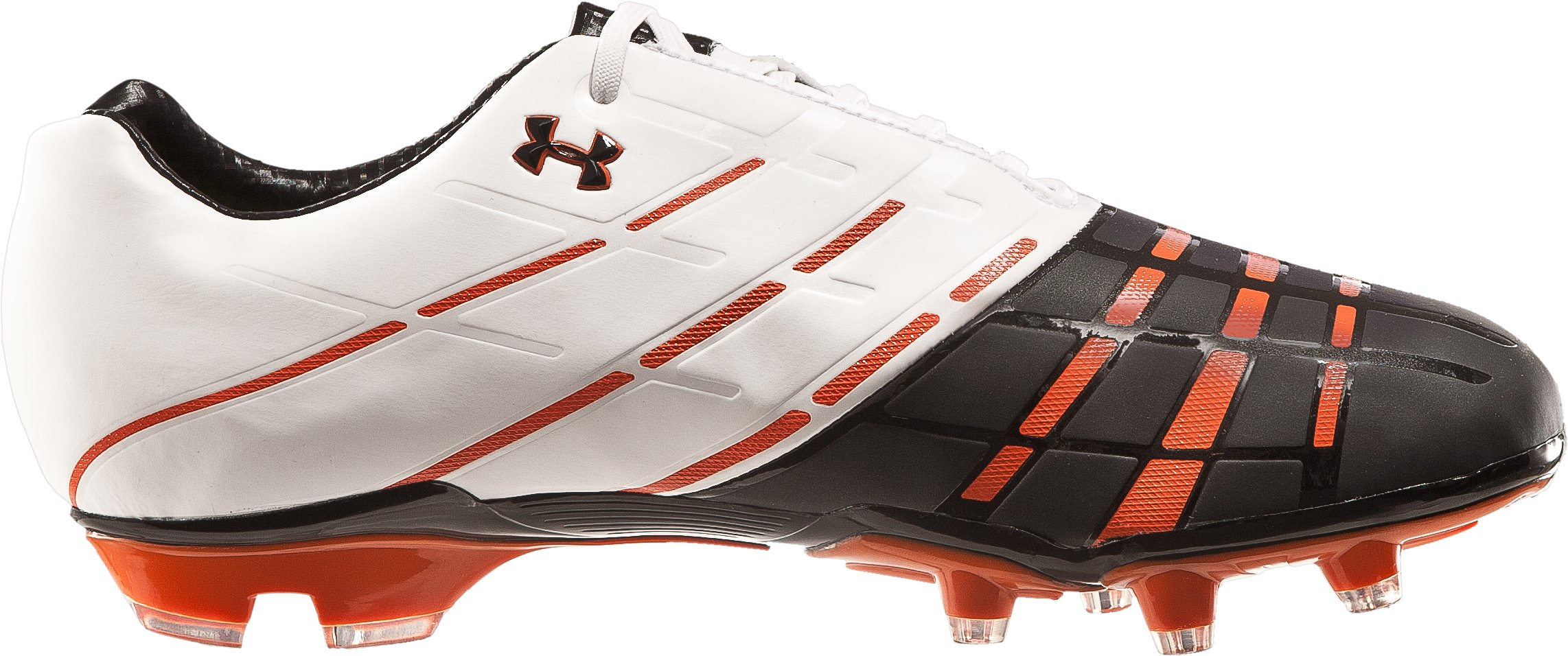 Men's UA 10K Force FG Soccer Cleat, White