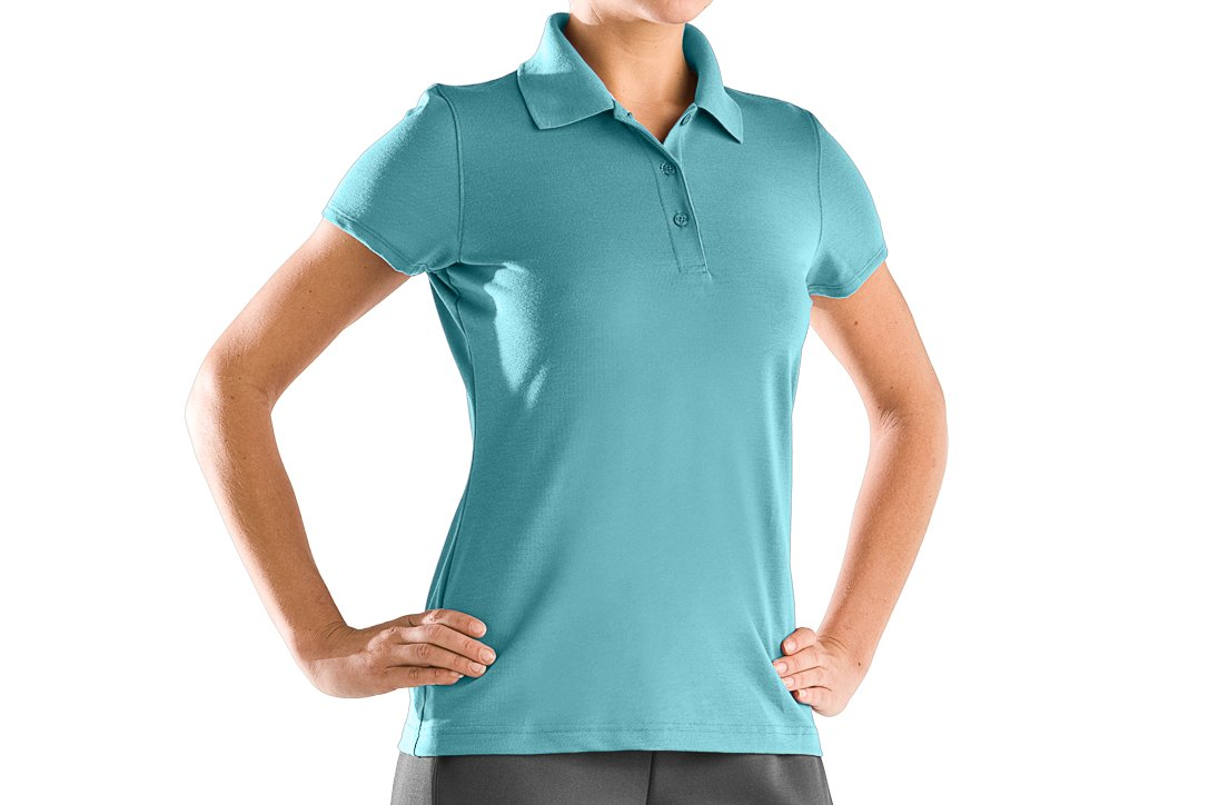 Women's UA Core Solid Short Sleeve Golf Polo, Dream