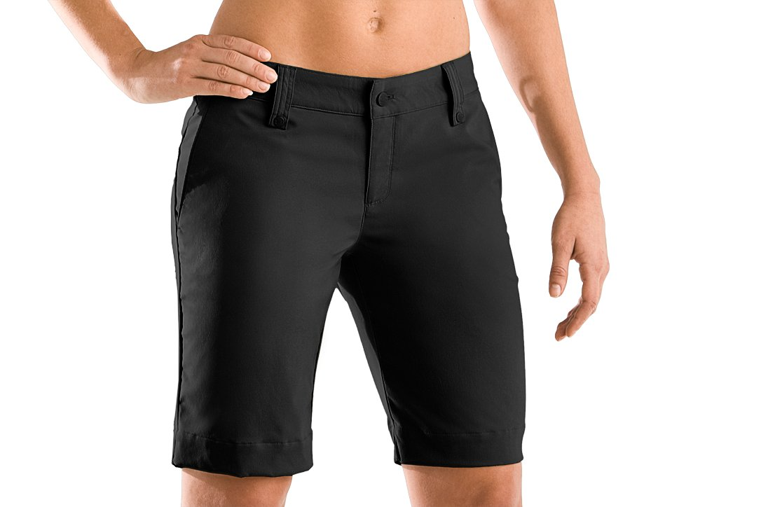 "Women's UA Core Solid 10"" Bermuda Short, Black , zoomed image"