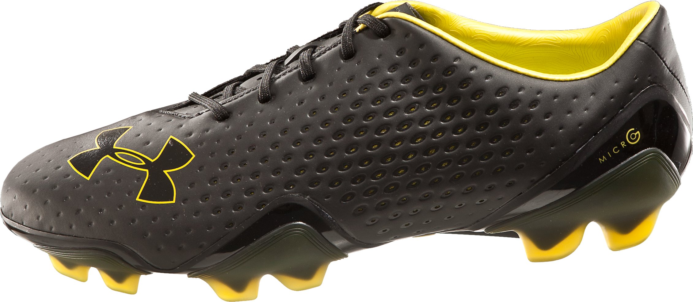 UA Blur FG Soccer Cleats, Black , undefined