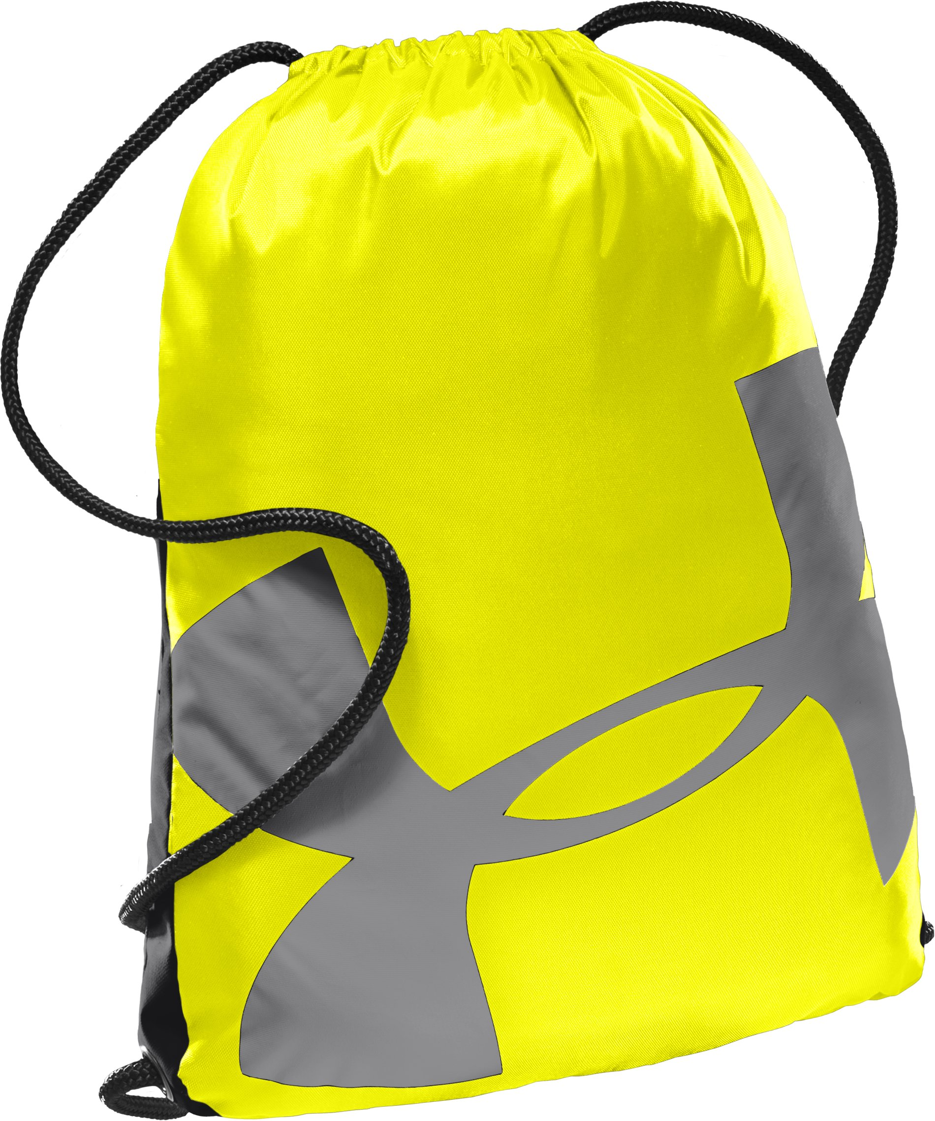UA Dauntless Sackpack, High-Vis Yellow, undefined