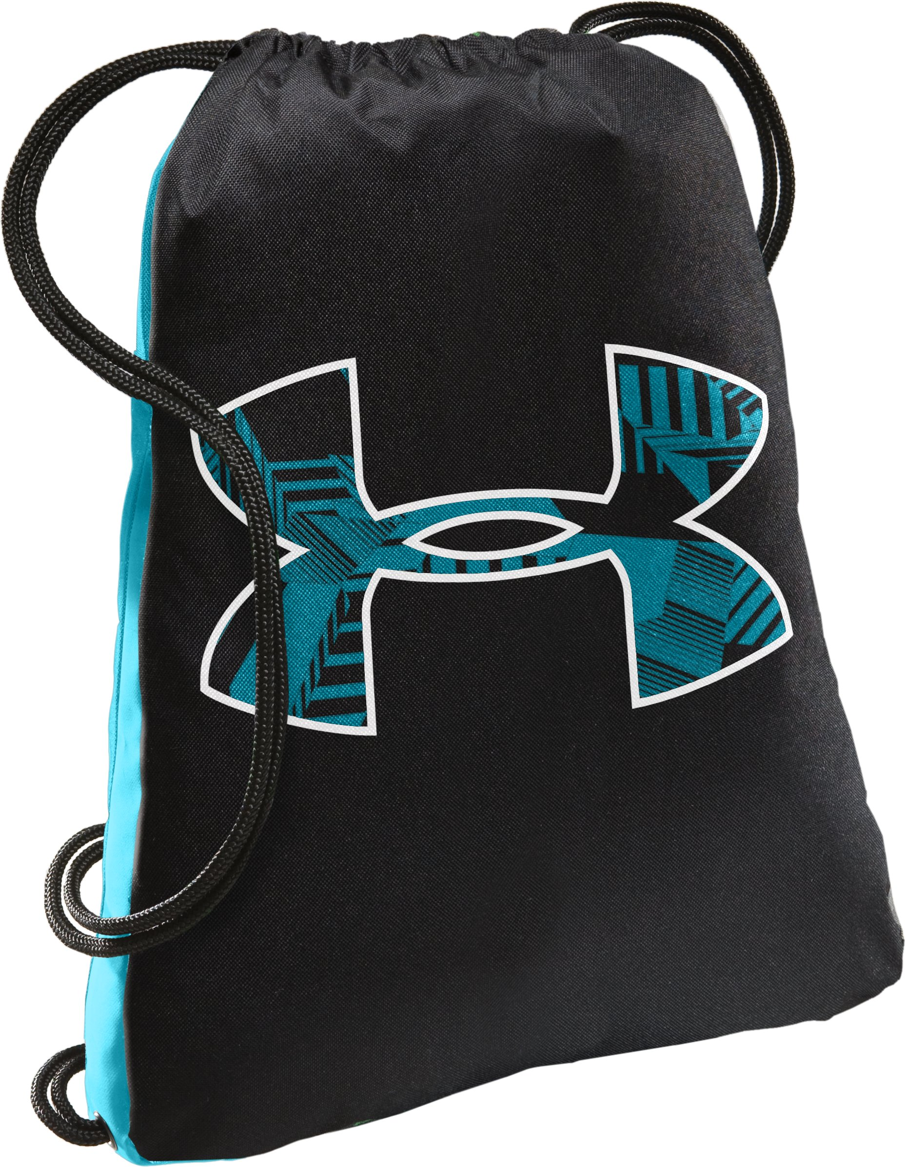 UA Tyro Courage Sackpack, Black , undefined