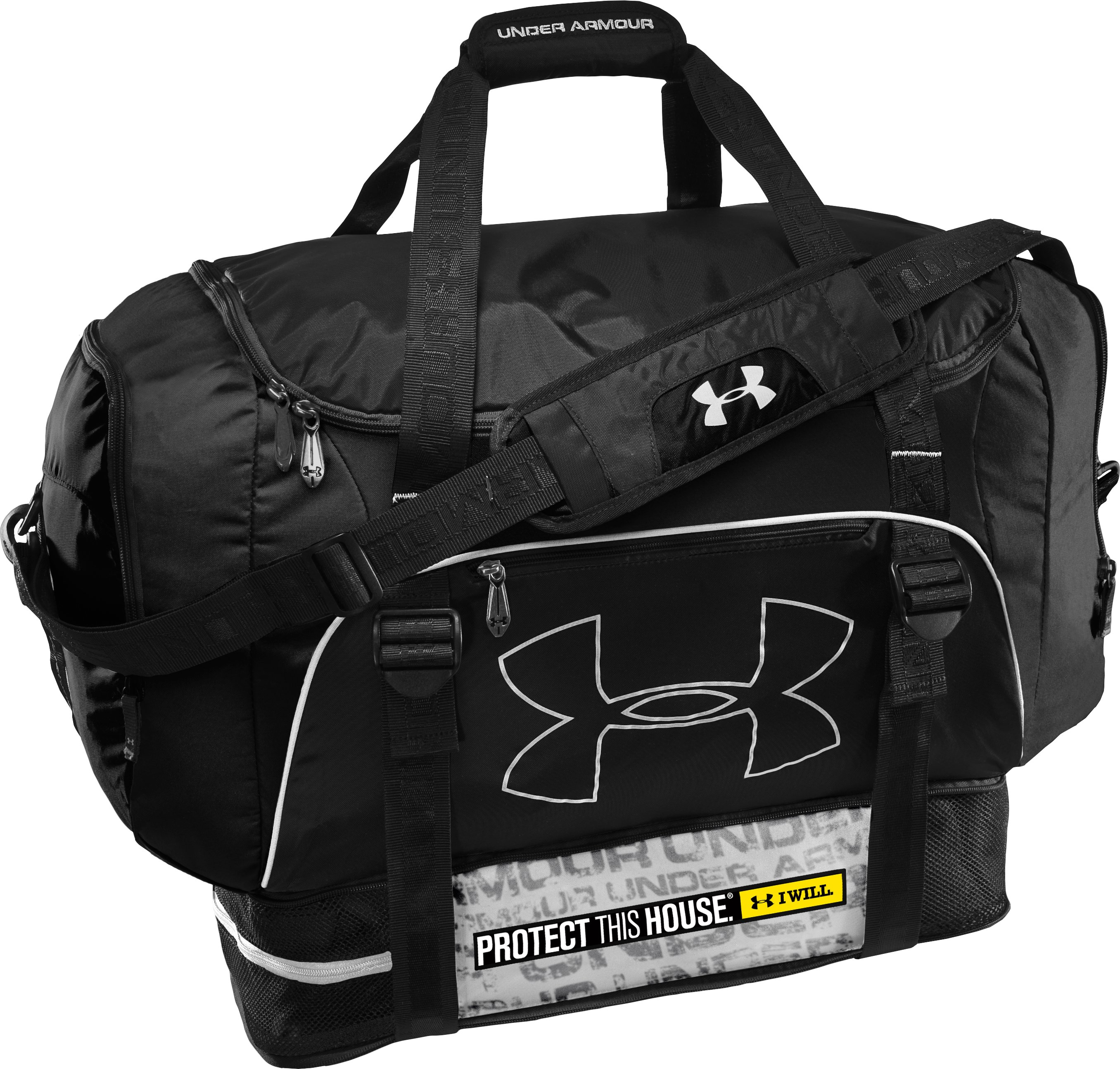 Armour Select® Duffel Bag, Black , zoomed image