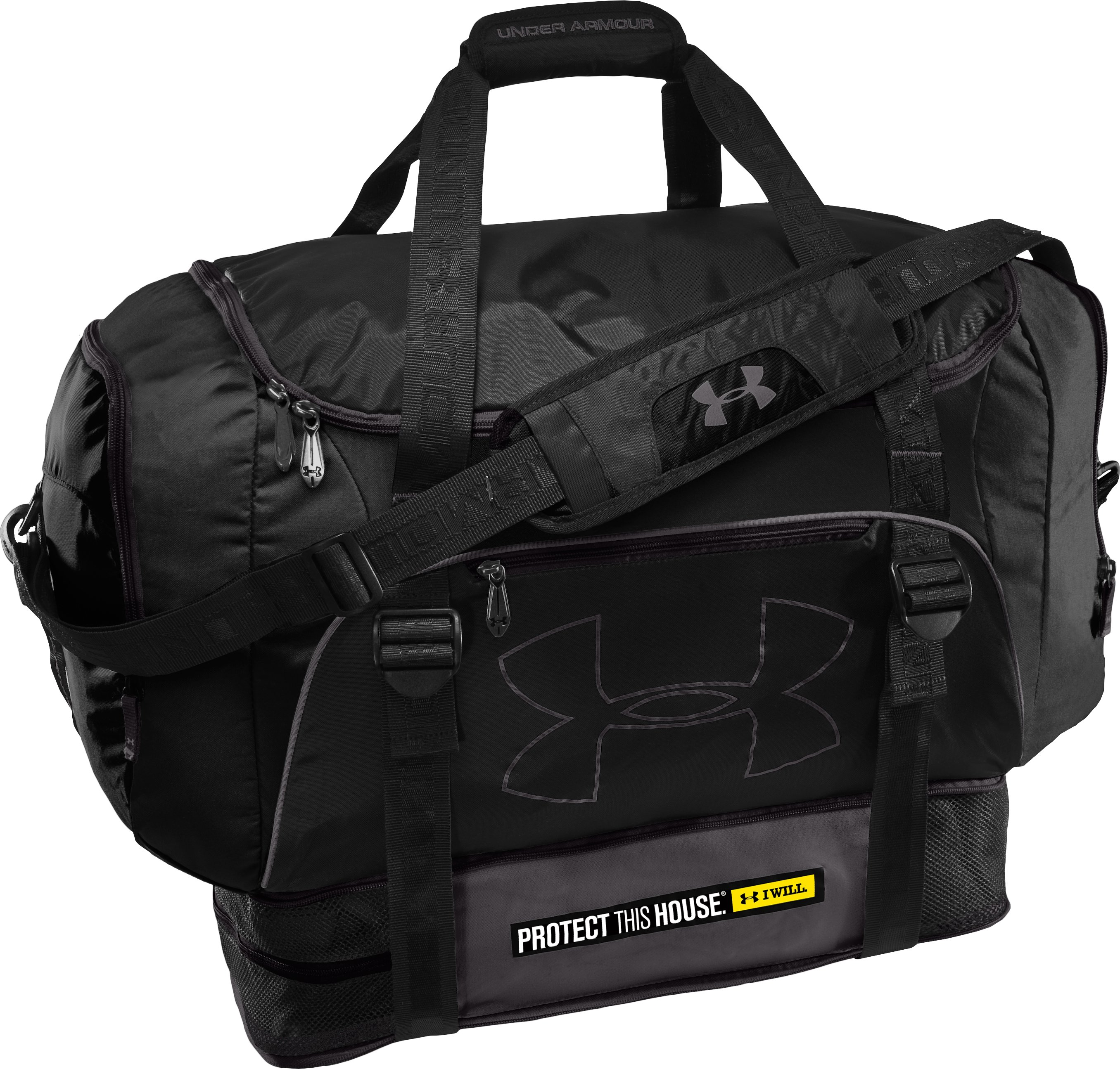 Armour Select® Duffel Bag, Black , undefined