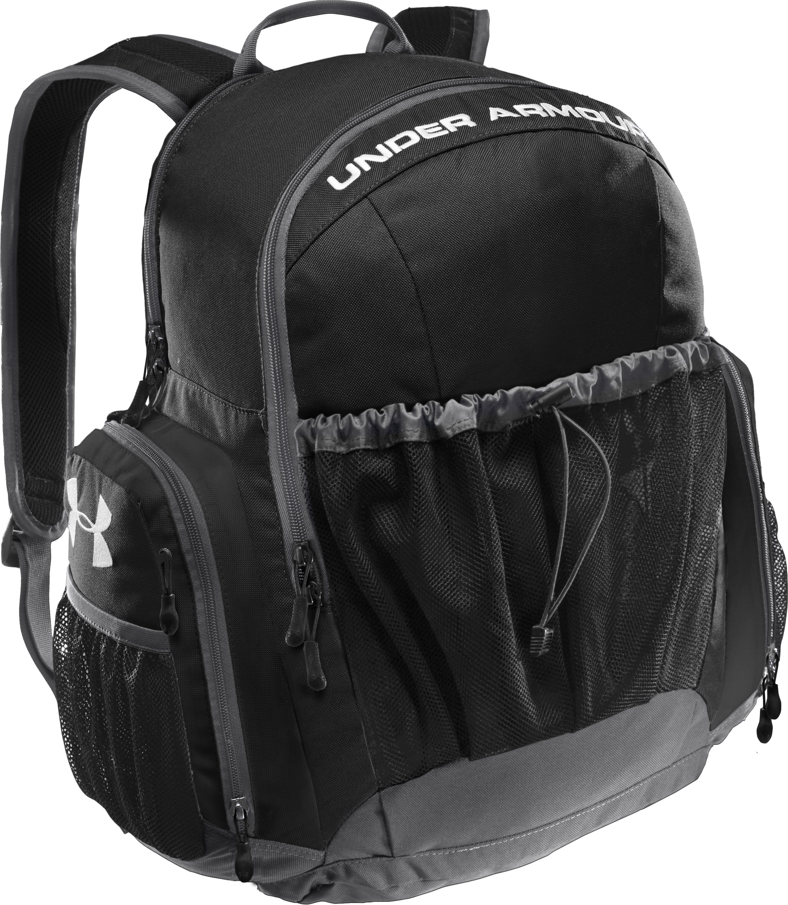 UA Striker Backpack, Black , zoomed image