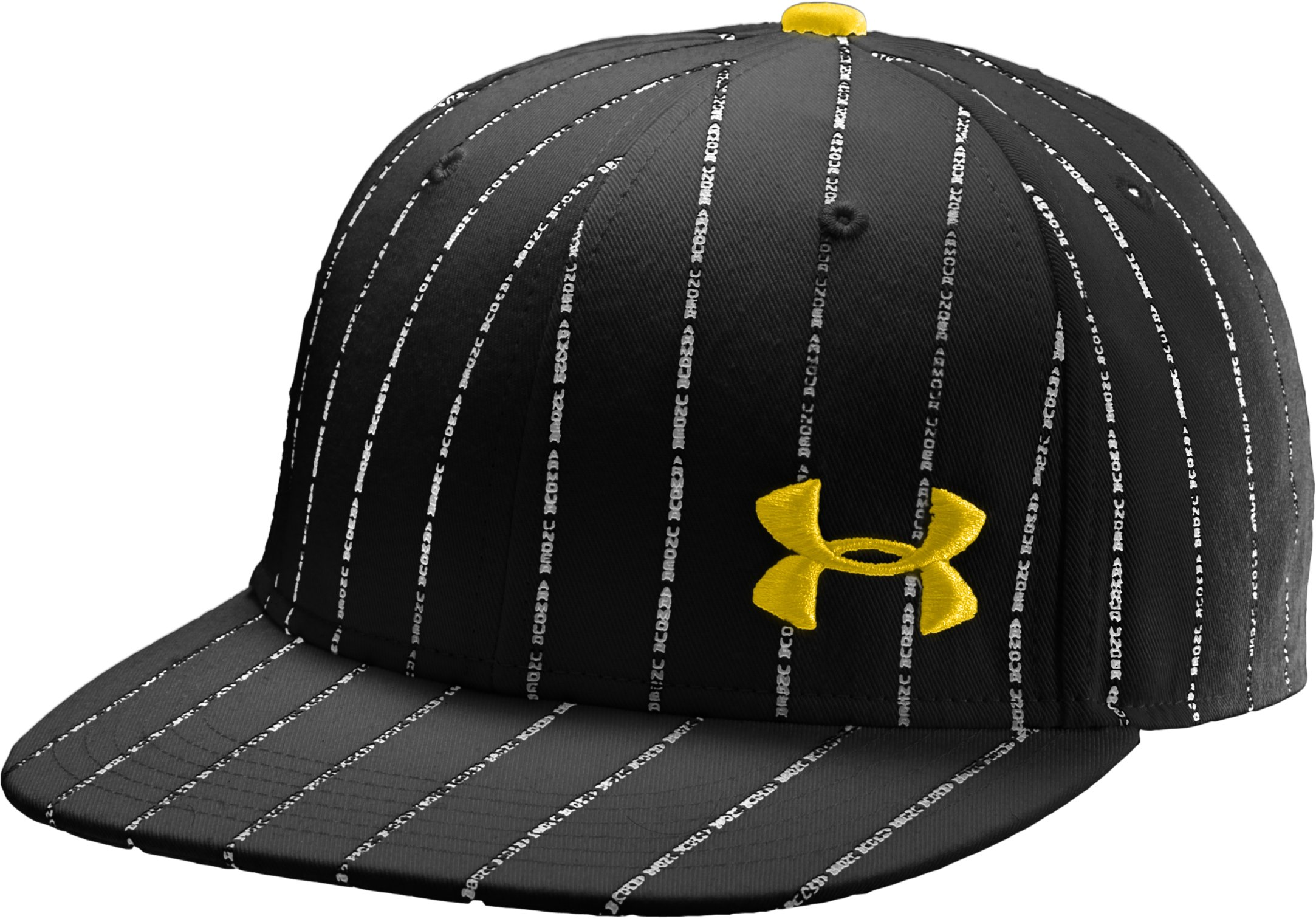 Men's UA Owned Fitted Cap, Black , zoomed image