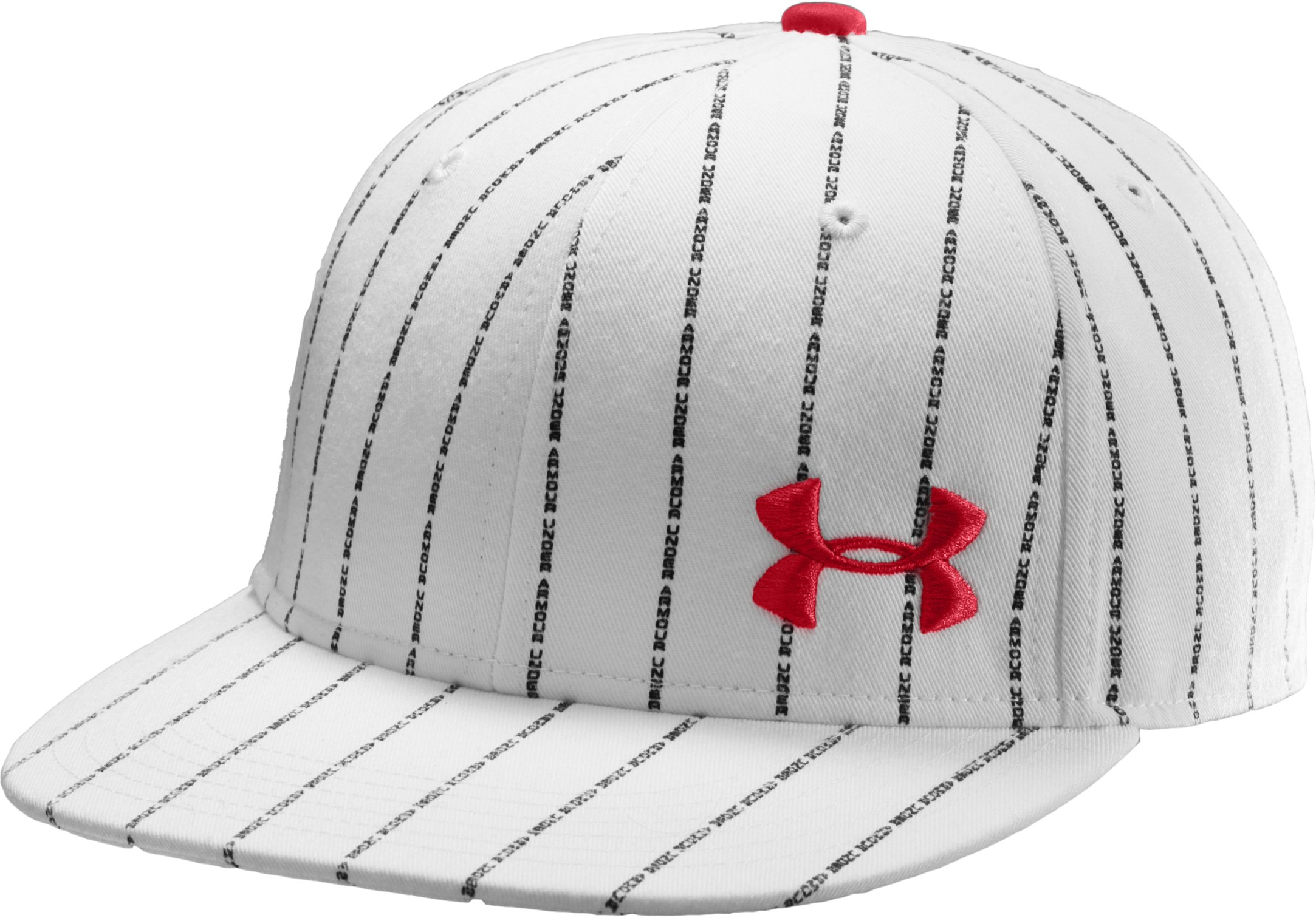Men's UA Owned Fitted Cap, White, zoomed image