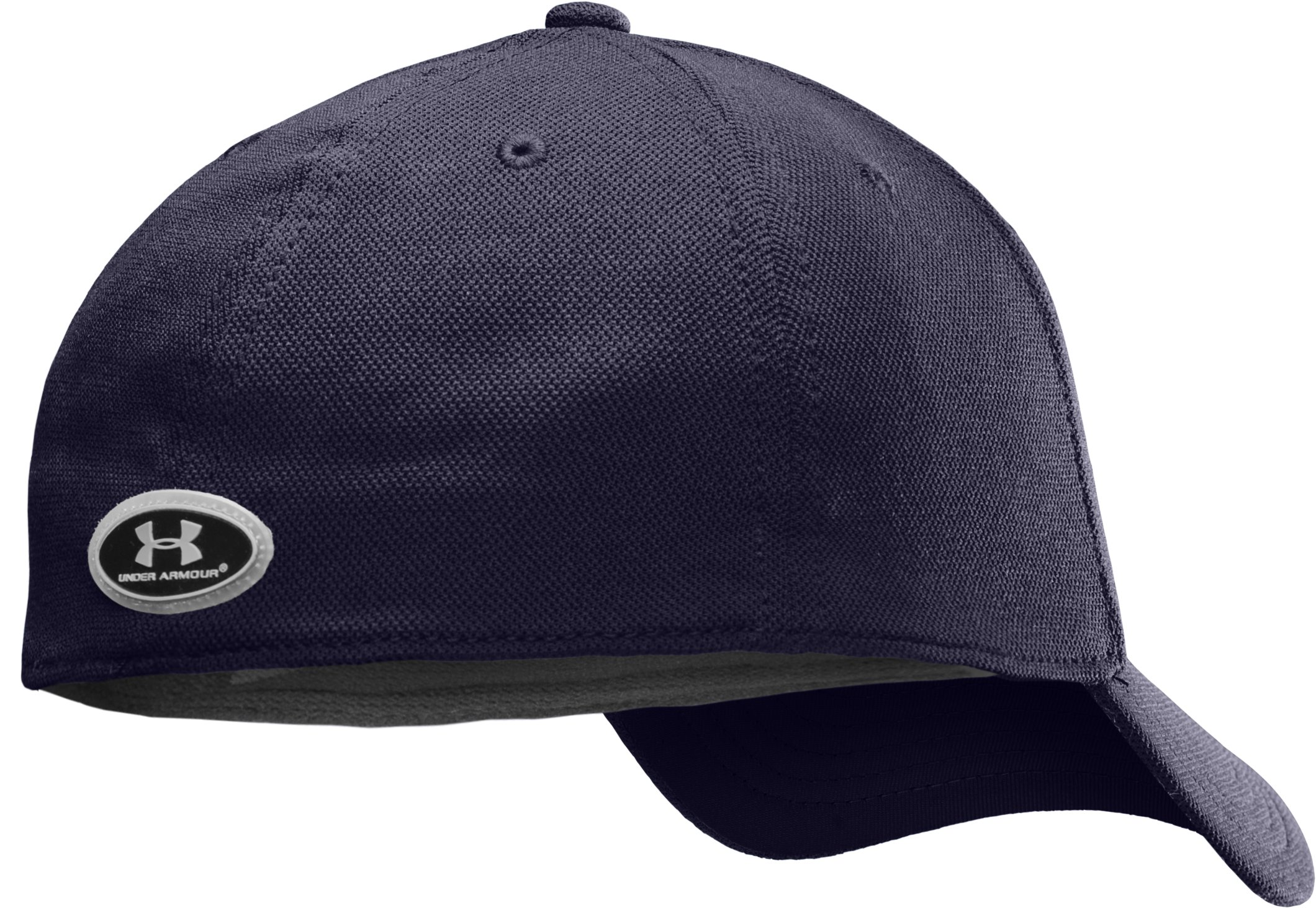 Men's Armour® Stretch Fit Cap, Midnight Navy