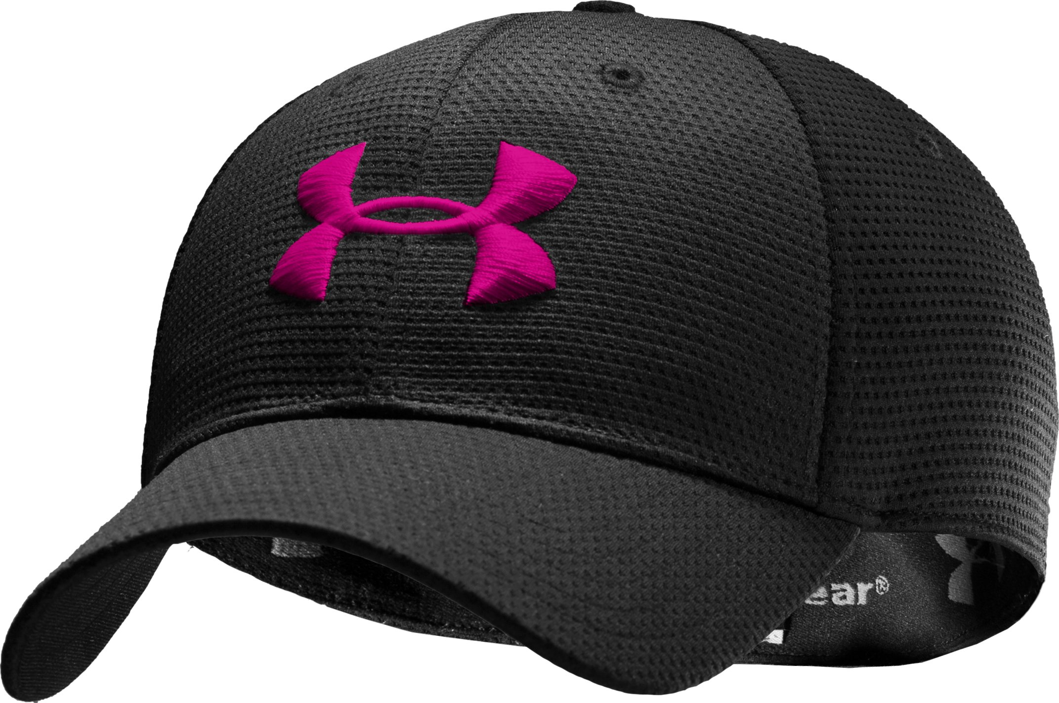 Men's UA Blitzing Stretch Fit Cap, Black