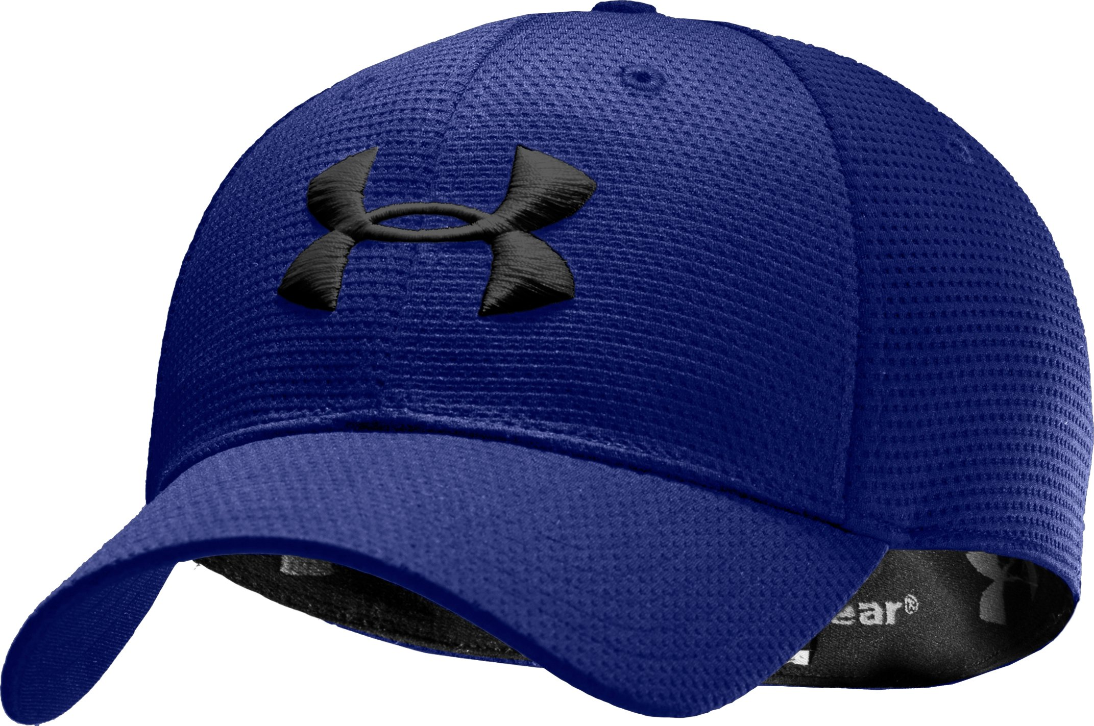 Men's UA Blitzing Stretch Fit Cap, Royal