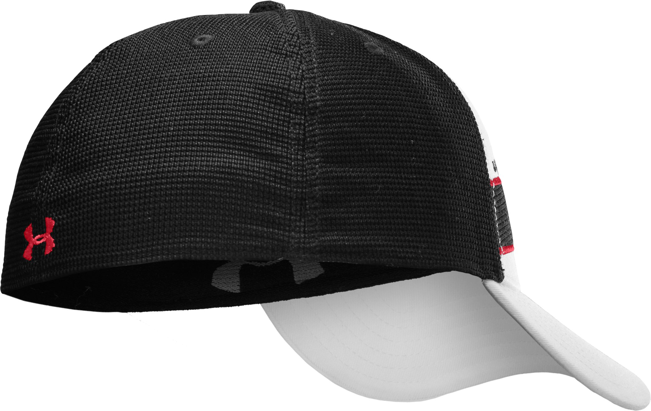 Men's Dauntless Stretch Fit Cap, White, zoomed image
