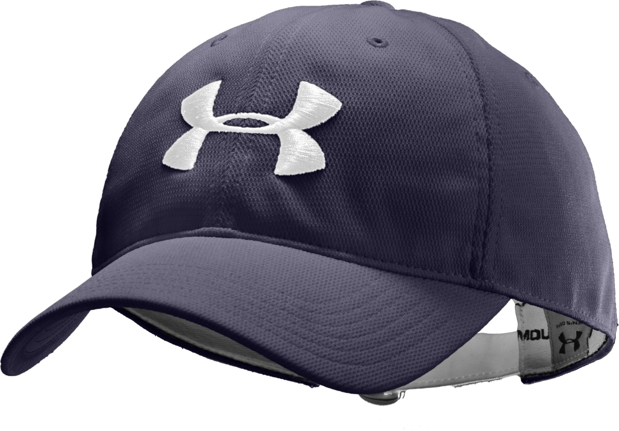 Men's UA Classic Adjustable Cap, Midnight Navy, zoomed image
